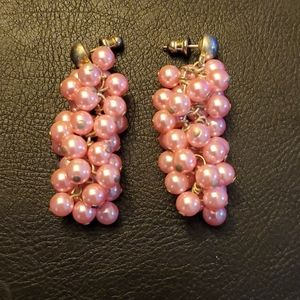 Jewelry - Boutique Fashion Earrings Pink Champagne Style